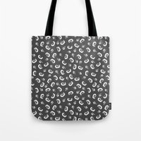 tape Tote Bags featuring Tape  by icantdance