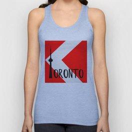 Toronto Red Unisex Tank Top
