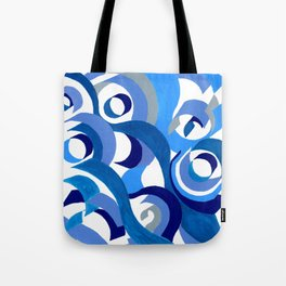 Seigaiha Series - Tenderness Tote Bag