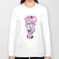 chibi Long Sleeve T-shirts featuring chibi by barachan