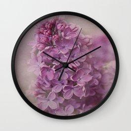 senteur de lilas Wall Clock