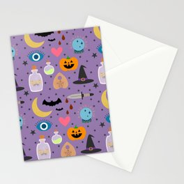Halloween Magic Stationery Cards