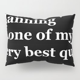 Planning Pillow Sham