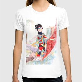 Watercolor Chinese Classic Beauty T-shirt