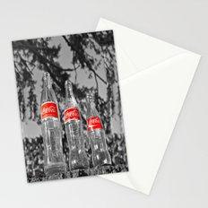 Classic soda bottles Stationery Cards
