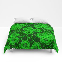 Clover Lace Pattern Comforters
