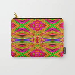 Orange Jewels Carry-All Pouch