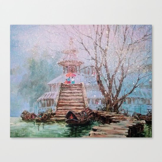 Spring in China Canvas Print