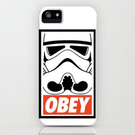 OBEY Storm Trooper  iPhone Case