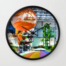 Nickelodeon Universe indoor amusement park Wall Clock