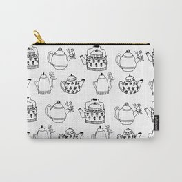 Tea pot pattern Carry-All Pouch