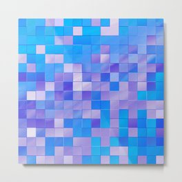 many little squares -b- Metal Print