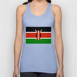 Kenyan national flag - Authentic version Unisex Tank Top
