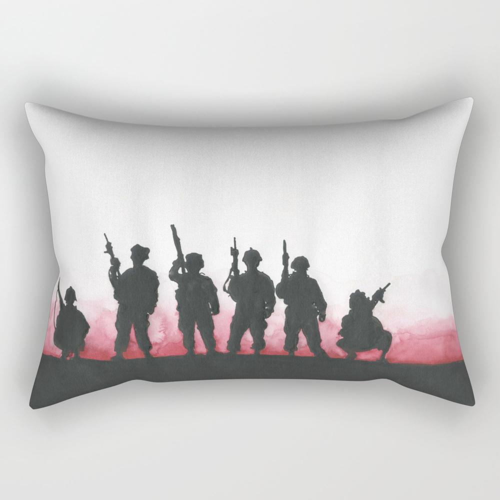 Soldiers Rectangular Pillow RPW825785