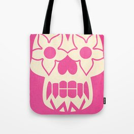 FEEDING GROUND Sugar Skull Tote Bag