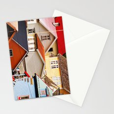 Fjord Houses Stationery Cards