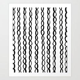 Chain Chain Chain Art Print