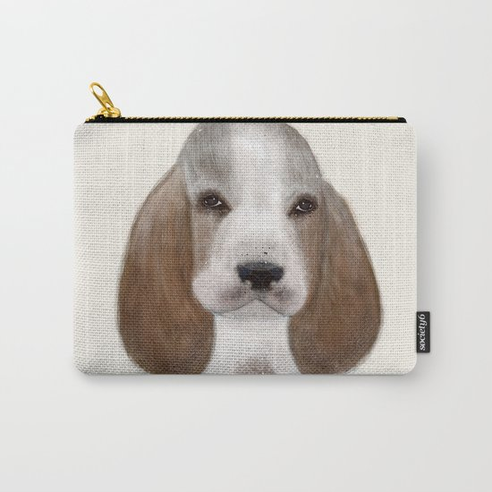 little basset hound Carry-All Pouch