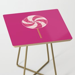 Pink Lollipop Side Table