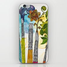 Brushtopia iPhone & iPod Skin