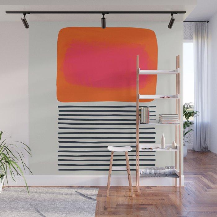 Sunset Ripples Wall Mural