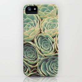 Sea of Succulents iPhone Case