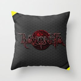 Bayonetta Throw Pillow