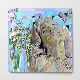 Devastated By Love Metal Print