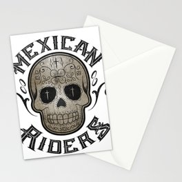 Mexican Riders Stationery Cards