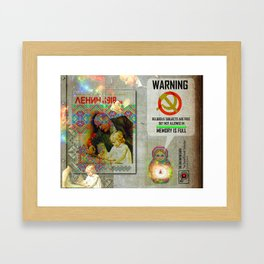 THE DREAM WEAVER (The Social Outcast Collection) Framed Art Print