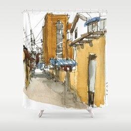 vintage city 1881 Shower Curtain