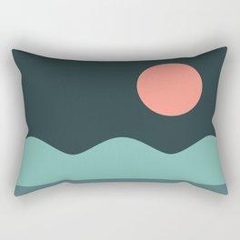Abstract Landscape 06 Rectangular Pillow