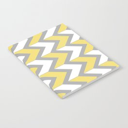 Mustard Chevron Notebook