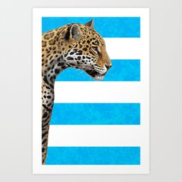 Argentina Rugby Art Print