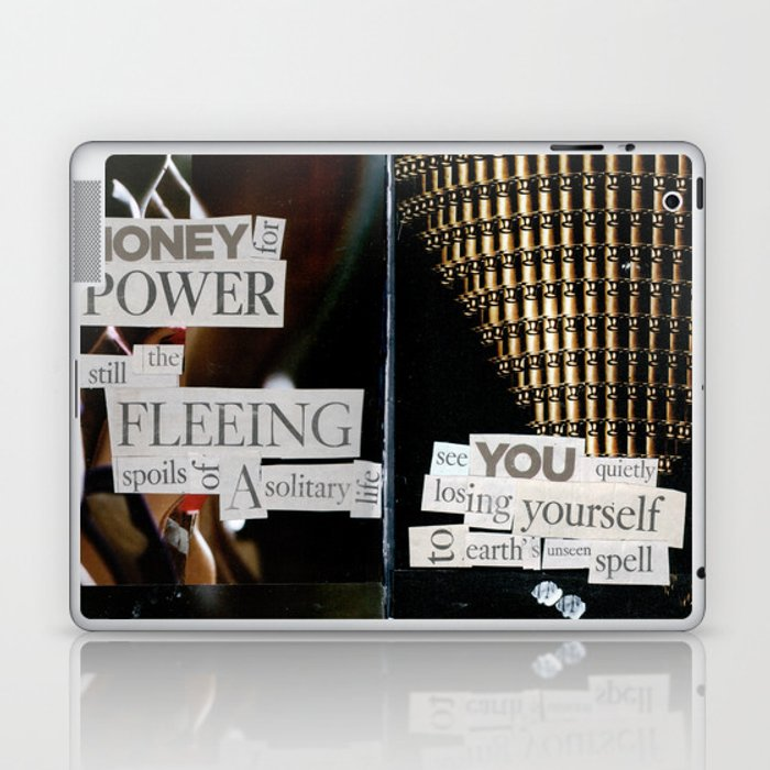 Money for Power Print Laptop & iPad Skin