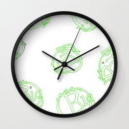 green is big! Wall Clock