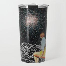 unknown pleasures to Infinity Travel Mug