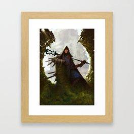 Scavenger Heroes series - 8 Framed Art Print
