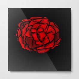 THE RED PROJECT - Rose . Metal Print