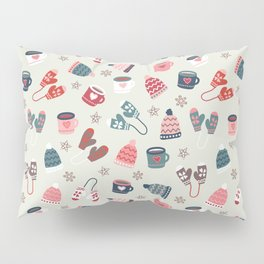 Scandinavian Winter Time Pillow Sham