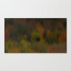 Reflecting Autumn Canvas Print