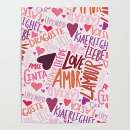 Love Languages Poster