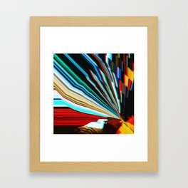 Digital Dive Framed Art Print