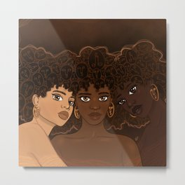 Sisterhood Metal Print