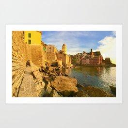 Vernazza - 5 Terre - Liguria - Italy Art Print