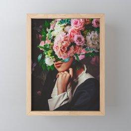 The Poser Framed Mini Art Print