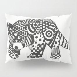 Red PandOo Pillow Sham