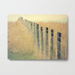 Pastures Metal Print
