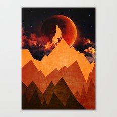 Golden Nighter Canvas Print