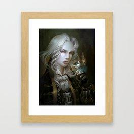 Alucard. Castlevania Symphony of the Night Framed Art Print